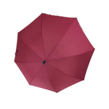 Red Pongee Straight Umbrella (JYSU-23)